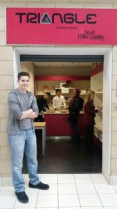 Tringle Stationery Shop at Keighley College